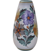 Tall Gouda Vase Fiora in the Viola Pattern
