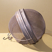 Wire Rice Ball  Circa 1930   Hard to Find & Most Unusual