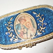 Vintage Enameled Estee Lauder Solid Perfume Holder 1973