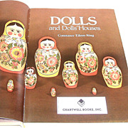 DOLLS  and Dolls Houses.  Gorgeous illustrations.  Fantastic reference!!  Huge!