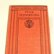 PUCK OF POOK�S HILL.  Kipling�s Children�s Classic.  1931!  Mint condition! Millar Illustrated