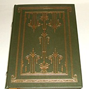 The Alcestiad by Thornton Wilder.  Full, genuine leather binding with gilt & ribbon marker.  .