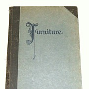 FURNITURE.  Century Furniture Company Grand Rapids Michigan.  1st Ed.  1926.  Collectible refe