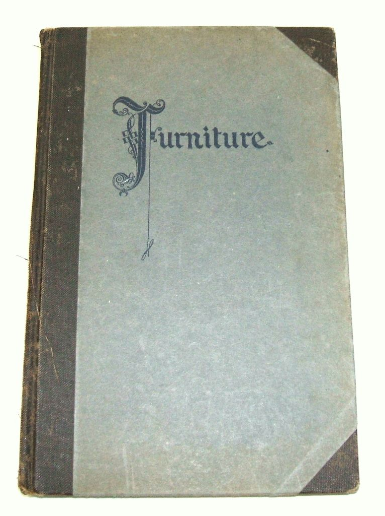 FURNITURE.  Century Furniture Company Grand Rapids Michigan.  1st Ed.  1926.  Collectible reference!  VG+++  condition.