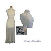 Vintage 1980's White Tadashi Gown