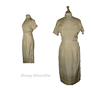 Vintage 1960's Silk Asian Dress made in Japan