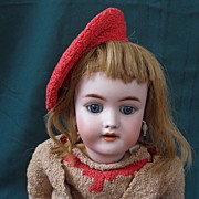 SOLD Handwerck and Halbig German bisque doll no mold number