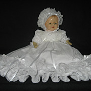 SOLD Vintage 1920's Composition and Cloth Body Sleepy Eye Baby Doll