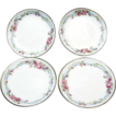 Set of 10, c.1900 Limoges Porcelain Wedding Wreath Butter Pats