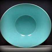 Vintage Vernonware Turquoise Bowl Heavenly Days Vernon Ware