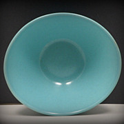 Vintage Vernonware Turquoise Soup Bowl Heavenly Days Vernon Ware