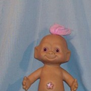 REDUCED Big 10 Inch Baby Treasure Troll Doll