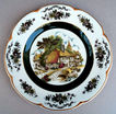 Ascot  Village Decorative Service Charger Plate Wood & Sons England