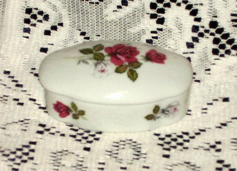 Beautiful W. Germany Trinket Box