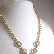 REDUCED Stunning Bijoux Terner Rhinestone Necklace