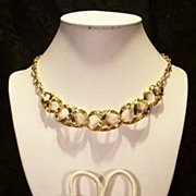 SALE Avon's ~Bamboo Trellis~necklace Set! V.nice!!