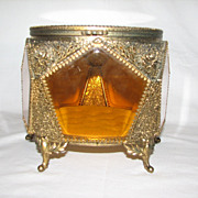 Large Ormolu Jewelry Casket
