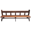 French Antique Gothic Church  Prayer Benches Pews Antique Furniture!
