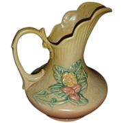 Hull Pottery Pitcher Vintage Pitcher