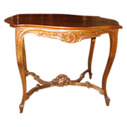 French Antique Louis XV Side Table Antique Furniture