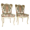 Adorable Pair of French  Parlor Chairs!
