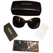 Vintage Versace Sunglasses Model 4089 Designer Sunglasses