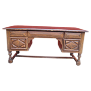 Antique Furniture Spanish Antique Carved Desk Console!