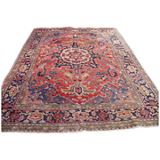 Beautiful Hand Made Persian Oriental Antique Rug!