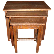 Antique Stacking Tables Nesting Tables Antique Furniture