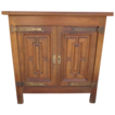 French Antique Rustic Oak Cabinet Server Antique Furniture