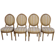 French Antique Louis XVI Side Chairs Antique Furniture