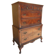 American Antique Highboy Dresser Antique Furniture