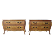 Pair of Painted Vintage Commodes  Nightstands Vintage Furniture