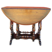 American Antique Mahogany Side Table Antique Furniture
