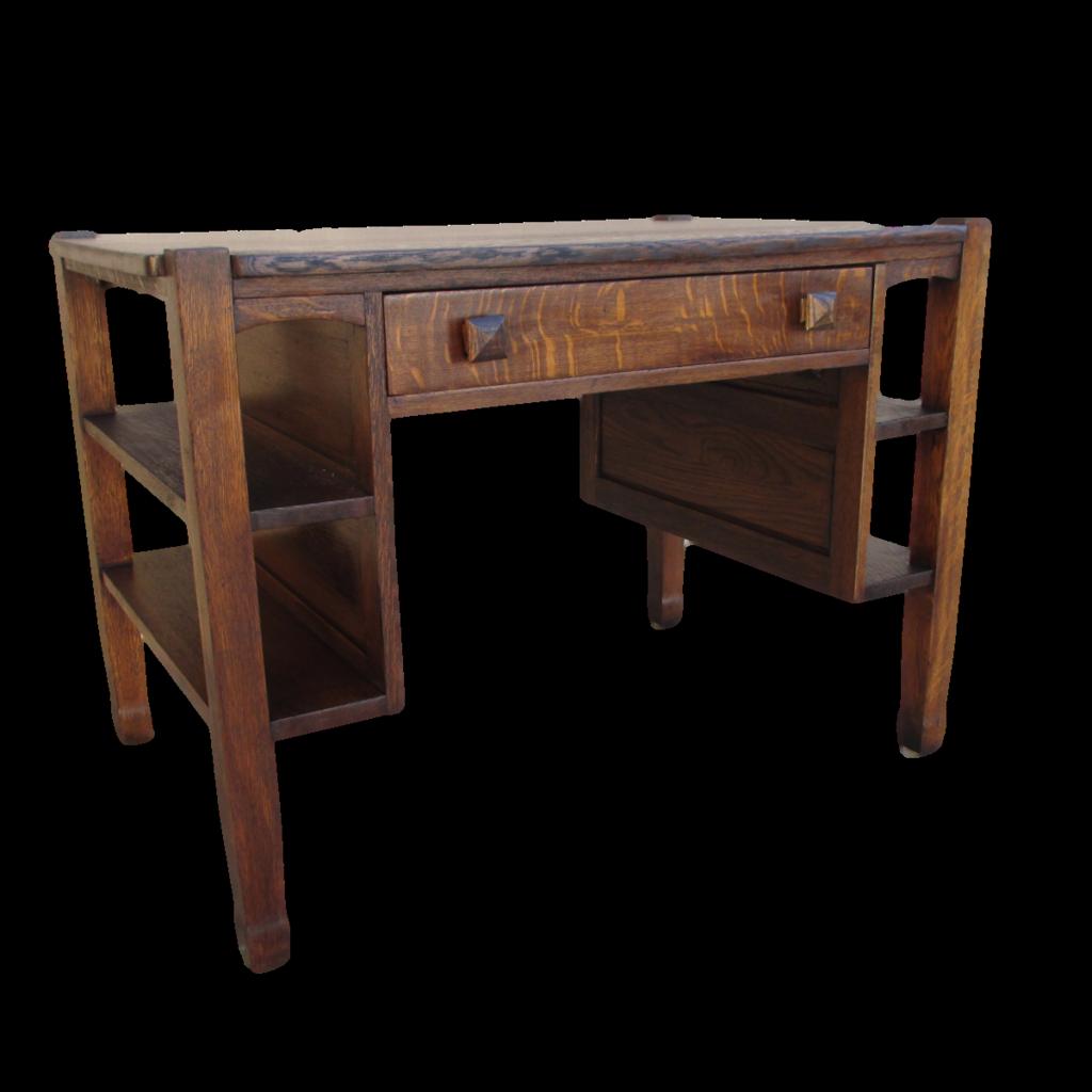 antique mission oak desk arts crafts antique furniture from