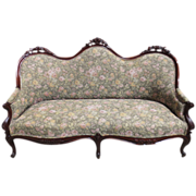 American Antique Victorian Sofa Settee Love Seat Antique Furniture!