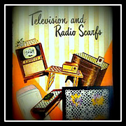Vintage 50's Crochet pattern booklet - Television & Radio Scarfs