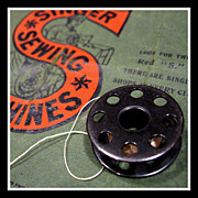 Vintage Singer blackside Bobbin for Featherweight Sewing Machine