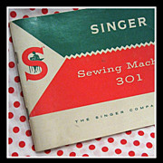 1956 Singer 301 sewing machine Manual, slant model
