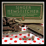 Rare Singer Featherweight Hemstitcher sewing machine Attachment