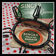 Vintage Singer STOCKING DARNER - use with sewing machines