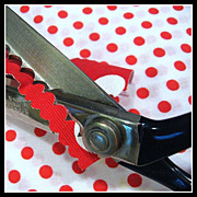 Vintage Wiss brand Scalloping Shears for crafts or sewing