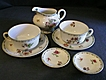 8 Piece Group of Syracuse &quot;Rosyln&quot; Pattern Dinnerware