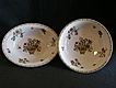 "Set of 2 Serving Bowls - Syracuse ""Rosyln"" Pattern Dinnerware"