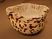 "Art Glass ""Spatter"" or ""End-of-Day"" Bowl"