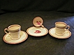 Set of 3 Demi-Tasse Cups & Saucers, Wedgwood &quot;Paignton&quot; on Patrician Blank