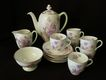 15 Pc. Demi-tasse Coffee Set - Royal Doulton - Viola Pattern