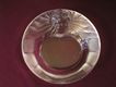 Lalique Crystal Tete de Lion  Ashtray