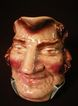 Sarreguemines Majolica &quot;John Bull&quot; Face Jug