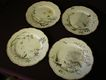 Set of 4 - Haviland China &quot;Theatre Des Saisons&quot; Collector's Plates